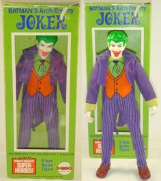 1973 Mego Batman's Arch Enemy Joker Action Figure