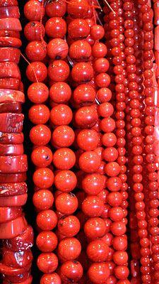 Red beads ukrainian