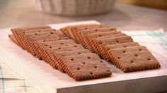 Use them for s'mores, a crumb base for a pie, ice-cream sandwiches, or simply enjoy them on their own. These crisp cookies are made with graham flour -- a special type of whole-wheat flour -- that gives them a distinct nutty flavor.
