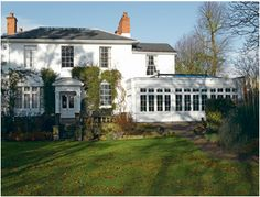 Featuring Pilkington Activ™ Clear, this Edgbaston Orangery benefits from both solar control and self-cleaning properties. Window Company, Sash Windows, Conservatories, Solar, Cleaning, Mansions, House Styles, Mansion Houses, Slider Window