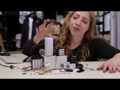 Battery Powering Your Wearable Electronics - YouTube