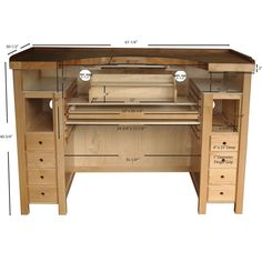 Maple Otto Frei Stone Setters Jewelers Workbench | OttoFrei.com