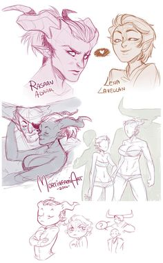 Dragon Age Inquisition - sketchdump by mortinfamiART on DeviantArt Dragon Age Comics, Dragon Age Memes, Dragon Age Funny, Dragon Age 2, Dragon Age Origins, Dragon Age Inquisition, Comic Manga, Character Design Inspiration, Drawing Reference