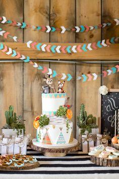 Wild & Free Birthday Party