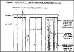 drip irrigation system design Google Search Garden