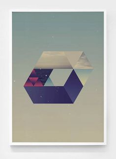 The shape of the space on Behance