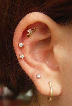 d69e505f9 Top Ear Piercing, Auricle Piercing, Ear Lobe Piercings, Tragus Stud, Tragus  Earrings
