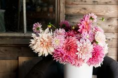 Flowers by Busy B: end of summer, beginning of dahlias