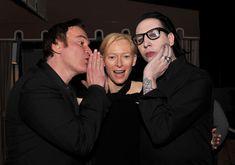 Quentin Tarantino, Tilda Swinton, and Marilyn Manson - let your freak flag fly people