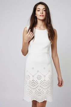 **Romance Laser Cut Dress by Jovonna - Dresses - Clothing - Topshop