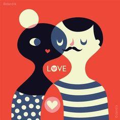 By Helen Dardik #illustration