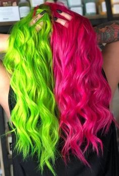 Super Hair Dyed Blue Mint Green Ideas Half And Half Hair Color blue dyed Green hair Ideas Mint Super Split Dyed Hair, Half Dyed Hair, Dyed Hair Ombre, Dyed Hair Blue, Dyed Hair Pastel, Dye Hair, Two Color Hair, Cute Hair Colors, Hair Dye Colors