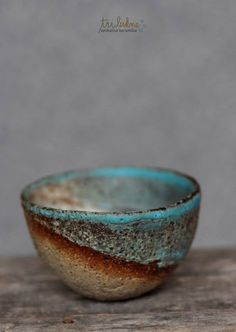Tri lukne    ---------  RAKU clay pot as inspiration -