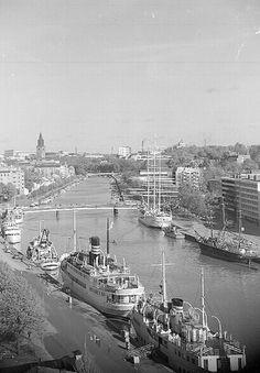 Aurajokinäkymä 1960-luvulta | Kuvaaja: Turun Sanomat Turun m… | Flickr