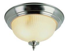 Trans Globe Lighting 13013 BN/FR Pendants and Flushmounts 2 Light Flush-mount