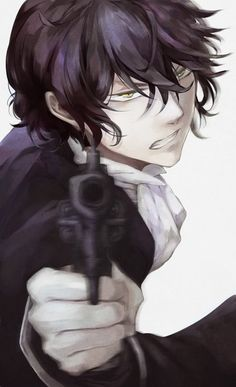 Gilbert | Pandora Hearts | fucking loved this anime, it was far too short and i dont think there is anything i wouldnt do to get a second season :0)