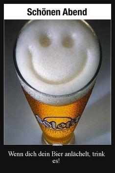 Beer Smiley - Drunk on Drank Best Happy Hour, Happy Week End, Happy Friday, Blessed Friday, Friday Drinking, Unbelievable Facts, Drink Specials, How To Make Beer, Beer Lovers