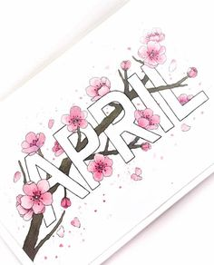 Beautiful April bullet journal coverage by ig@tashletters brings sakura season into journaling. We absolutely adore it! (check her Insta feed out for more amazing works!)