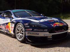 Aston martin DB9 red bull from 2006.