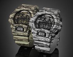 Casio G Shock   Camo Series Watches | Available Now