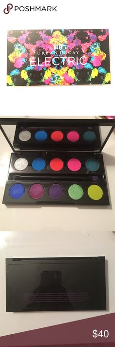 Urban Decay Electric Palette Only used Once to swatch! Such a beautiful palette, just don't need these colors! Urban Decay Makeup Eyeshadow