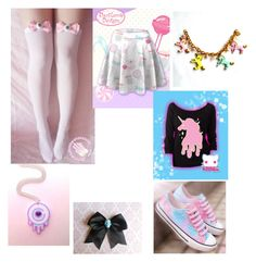 """""""Pastel goth look #6"""" by kyleigh-rodgers on Polyvore"""
