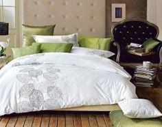 Turning Leaf Queen Duvet Set - Melange Home | domino.com