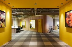 Vibrant Walmart Offices Designed with Help from Employees | Wave Avenue