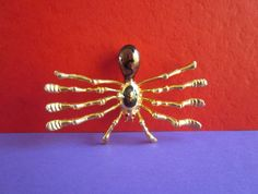 Vintage Spider Brooch by 5and10vintage on Etsy