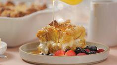 Recipe: Make-Ahead Lemon Ricotta French Toast Bake — Sponsored by Land O Lakes