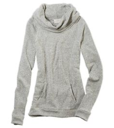 ae. love this pullover cowl hoodie