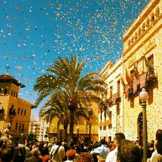 Easter in Elche, Spain