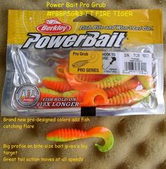 Cebo de pesca Berkley Powerbait Paquete individual