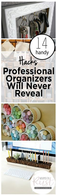 14 Handy Hacks Professional Organizers Will Never Reveal