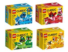 nice LEGO Classic Quad Pack 66554 Building Kit