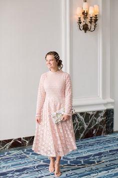 Beauty and Blush Dress Modest Skirts, Modest Outfits, Modest Fashion, Modest Clothing, Modest Apparel, Women's Clothing, Lovely Dresses, Stylish Dresses, Elegant Dresses