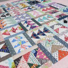 WEBSTA @ siroiti - バーアンドギースのタペストリー#バーアンドギース #パッチワーク#キルト#quilt #handquilting…