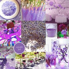 Wedding Shower Themes | ... Goodness - blog - Purple Bridal Shower: Centerpiece Suggestions