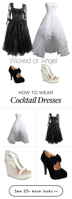 """Wicked or Angel"" by miacoolcat9 on Polyvore"
