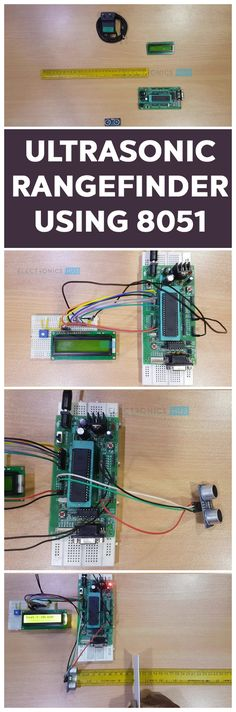 In this project, we have built an Ultrasonic Rangefinder using 8051 Microcontroller and Ultrasonic Sensor. We have different ways to measure the distance. One way is to use Ultra Sonic Sensor or Module for distance measurement. This article explains you how to measure the distance using 8051 microcontroller. This Ultrasonic Range Finder system measures the distance up to 4 meters with an accuracy of 3 mm.
