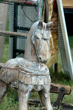 trojan horse...love the weathered look
