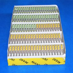 100 Packs Dental Endodontic Instruments Stainless Steel MANI H-FILES 25mm #15-40 #Haodental