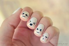 marshmallow kawaii nails