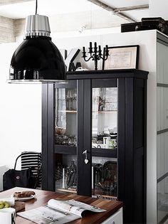 Modern kitchen with a vintage twist