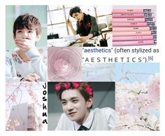 """""""Member Introduction #3:Joshua Hong"""" by ayame-045 ❤ liked on Polyvore featuring art"""