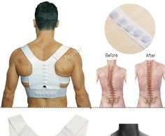 Magnet Therapy Posture Corrector Shoulder Back Support Belt HHI-485885 - Wholesale Supplier: TinyDeal