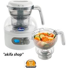 Chicco Steam cooker and Blender natural