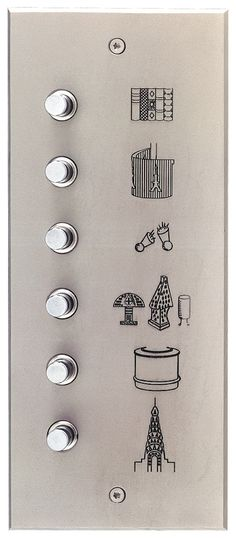 I don't normally pin product, but I'm in love with Meljac's chic electronic hardware