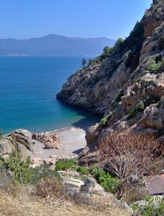 Lovely beach on  a beautiful way