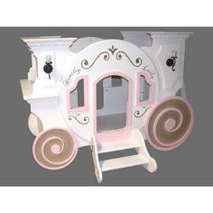 Cinderella Carriage - Bunk Bed - Beds